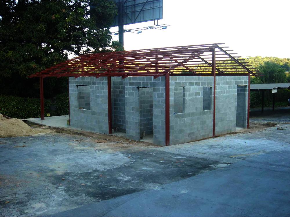 Casas p rtico constru es met licas constru o industrializada formas met licas pr dios Casas metalicas